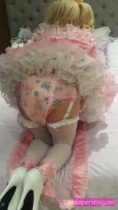 diapered sissy, sissified, feminization